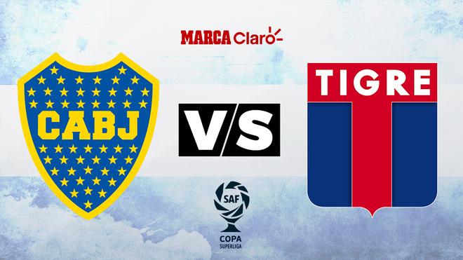 Boca vs Tigre, minuto a minuto en vivo