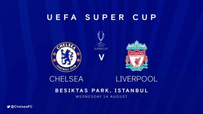 Chelsea vs Liverpool, por el título en la Supercopa de Europa.