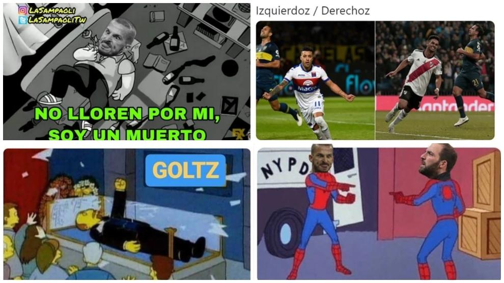Los memes de la derrota de Boca ante Tigre