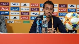 Fernando Batista, director técnico de la Selección Argentina Sub 20.