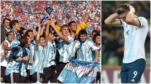 El contraste entre el título de 2007 y la eliminación en Polonia...
