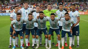 La Selección Argentina -sub 20 mostró buenos rendimientos en Polonia...