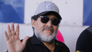 """Diego Maradona: """"Si el Manchester United necesita entrenador, yo..."""