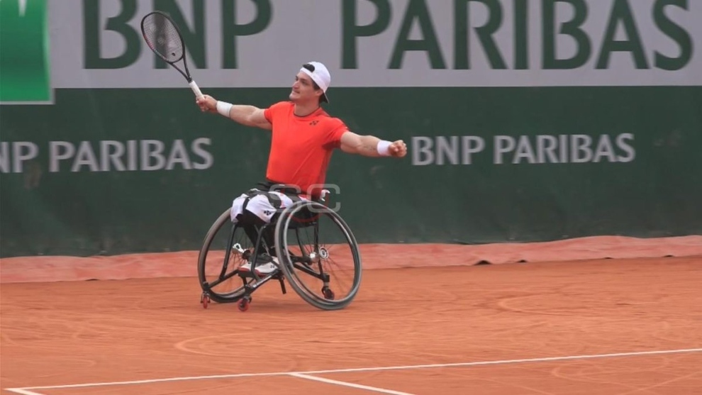 Gustavo Fernández finalista del torneo parisino — RolandGarros