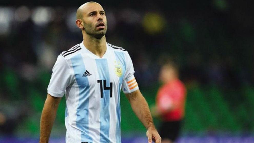 "Selección Argentina: Javier Mascherano: ""Sampaoli no me defraudó ..."