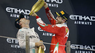 Nico Rosberg analiza a Sebastian Vettel