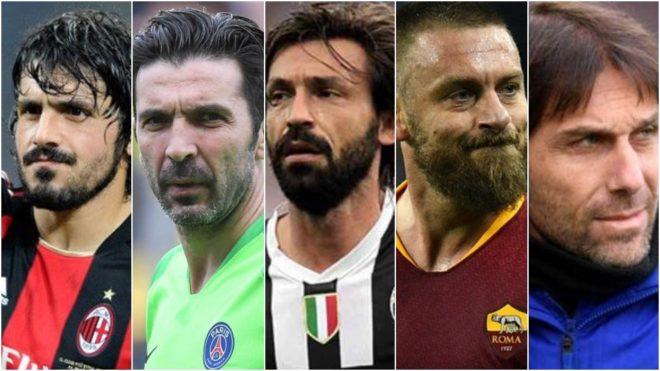 Gattuso, Buffon, Pirlo, De Rossi y Conte, ninguno vino a Boca.