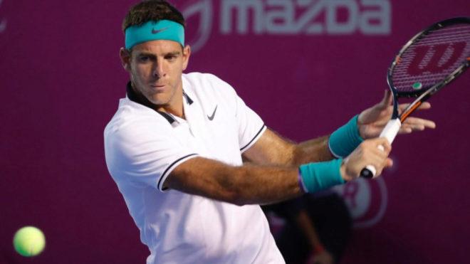 Del Potro confirma su presencia en el ATP mexicano de Los Cabos