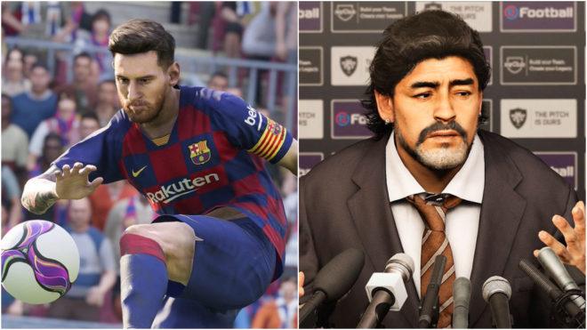 PES 2020: Leo Messi estará en la portada y Maradona también es...
