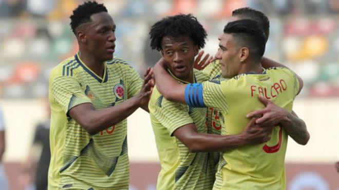 Colombia llega con sus figuras en buen nivel.