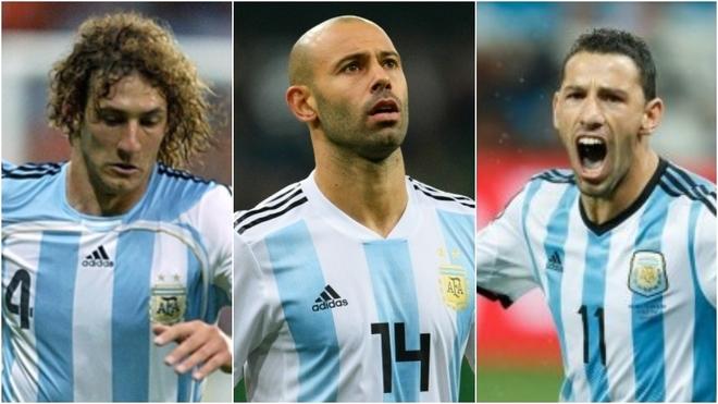Coloccini, Mascherano y Rodríguez, los elegidos por Batista.