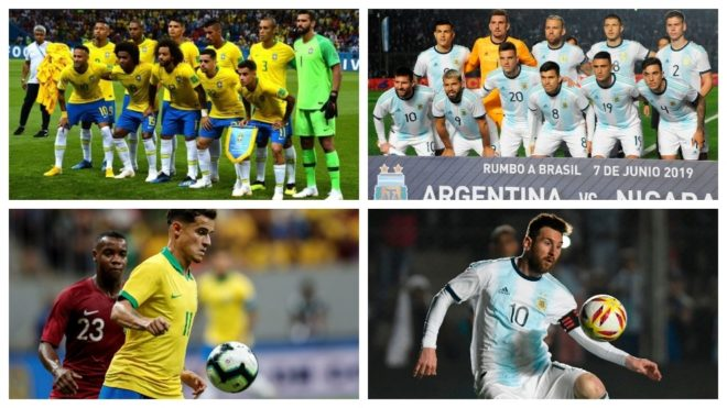 Primer choque del Grupo A — Brasil vs Bolivia