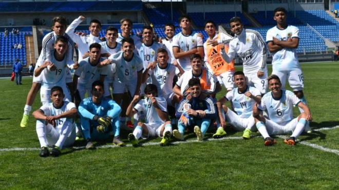 Deportivo: Con una gran actuación del bandeño Zeballos, Argentina gritó campeón