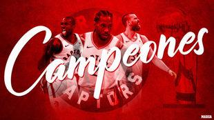 Warriors vs Raptors: Toronto hace historia y obtiene su primer título...