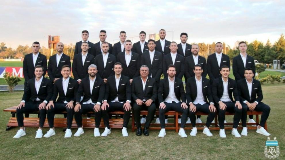 La lista de convocados de la Selección Argentina para la Copa...