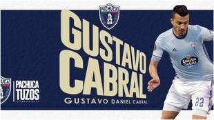 Gustavo Cabral no seguirá en el RC Celta y firma por Pachuca
