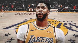 Anthony Davis jugará en Los Ángeles Lakers