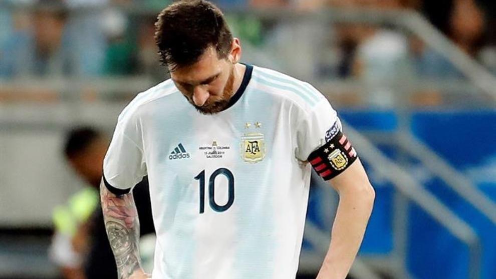 El peor comienzo de Argentina en la historia de la Copa América