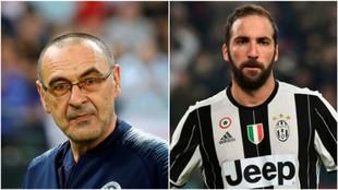 Maurizio Sarri y Gonzalo Higuaín podrían volver a encontrarse en la...