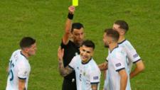 La tarjetas condicionan a Argentina