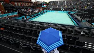 La lluvia postergó el debut de Del Potro en Queen's