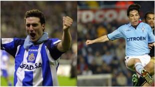 Lionel Scaloni y Eduardo Berizzo y se enfrentaron como jugadores en...