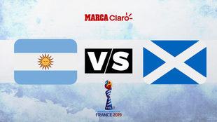 Argentina vs Escocia: Horario y dónde ver en TV online la tercera...