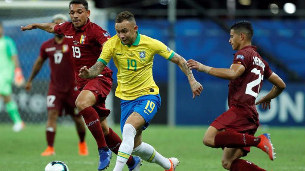 Everton Copa América Brasil
