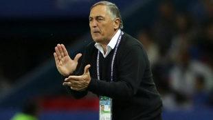 Carlos Borrello, entrenador de la Selección Argentina.