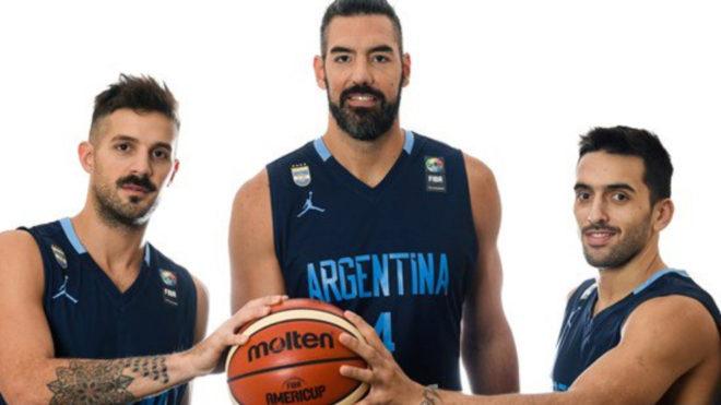 Resultado de imagen de selección argentina baloncesto 2019