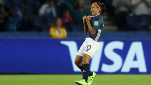 Dalila Ippolito debutó en el Mundial de Francia 2019.