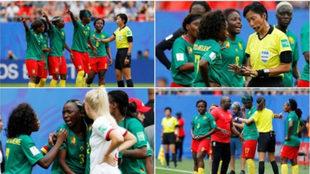 Inglaterra se luce ante una Camerún, que amenazó con irse por el...