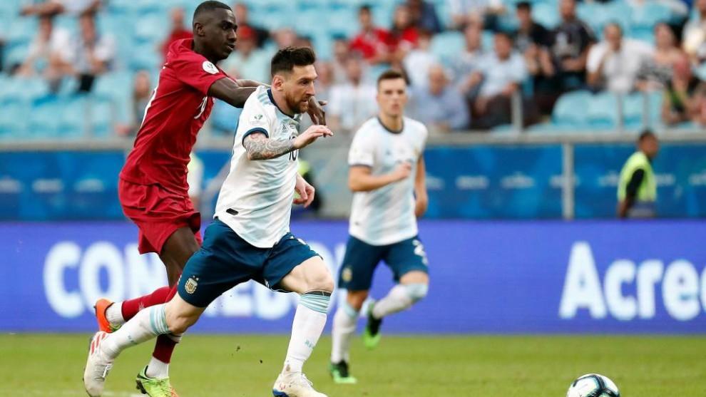 Leo Messi habló tras el triunfo ante Qatar