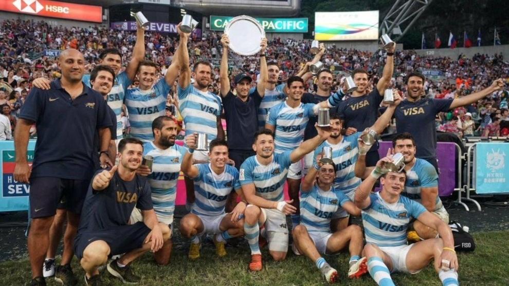 Los Pumas Seven tras el quinto puesto en Hong Kong