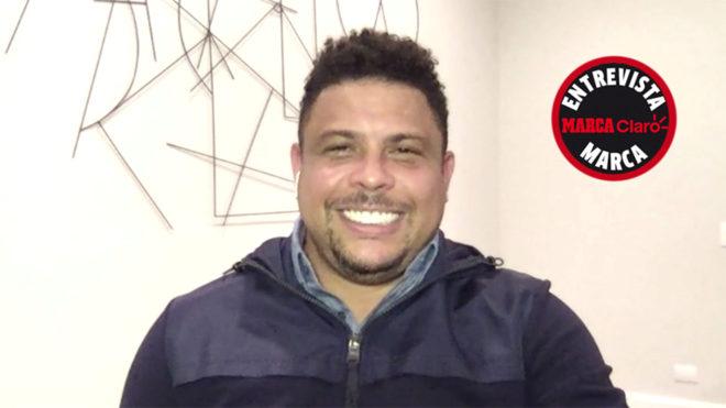 Ronaldo habló en exclusiva con MARCA Claro
