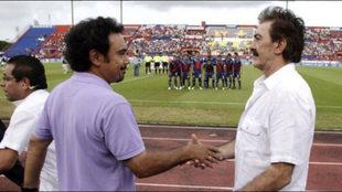 Hugo Sánchez vs Ricardo La Volve