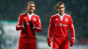 Martín Demichelis y Miroslav Klose trabajarán en las divisiones...