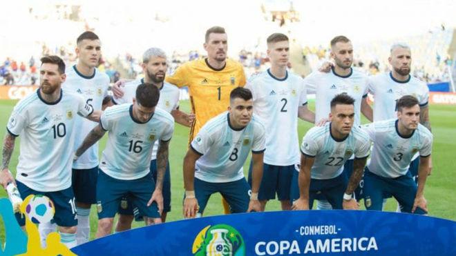 Argentina no repite equipo hace cuatro años