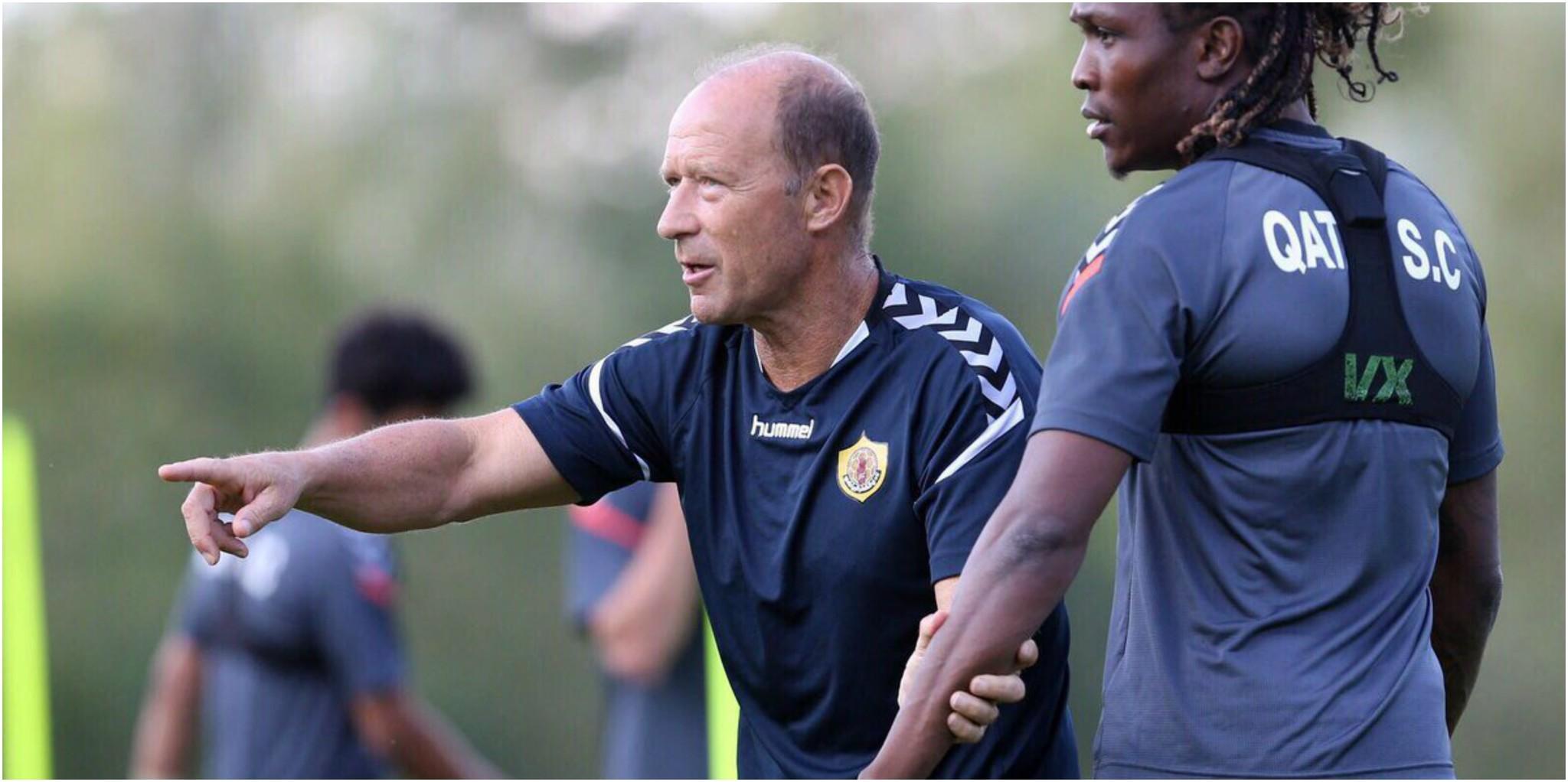 El argentino Gabriel Humberto Calderón, nuevo entrenador del...