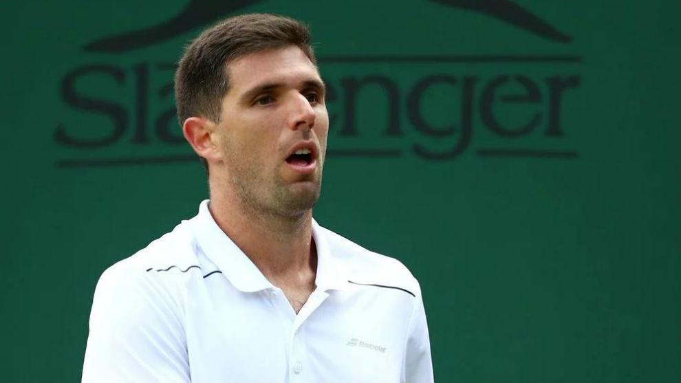 Schwartzman, la única victoria argentina de hoy en Wimbledon