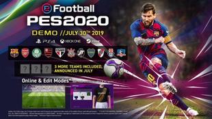Boca y River, presentes en la demo de eFootball PES 2020