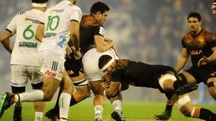 El tackle, una de las grandes fortalezas de Jaguares