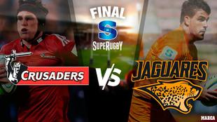 Crusaders vs Jaguares: horario y dónde ver hoy en TV online la final...