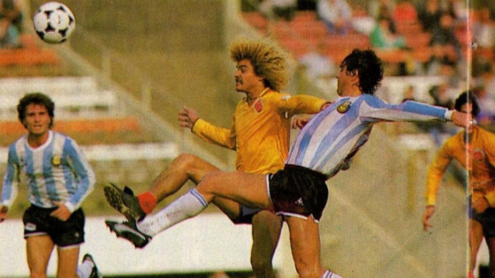 La única vez que Argentina jugó por el tercer puesto
