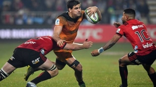 Matera fue el 'Man of the Match' ante Crusaders