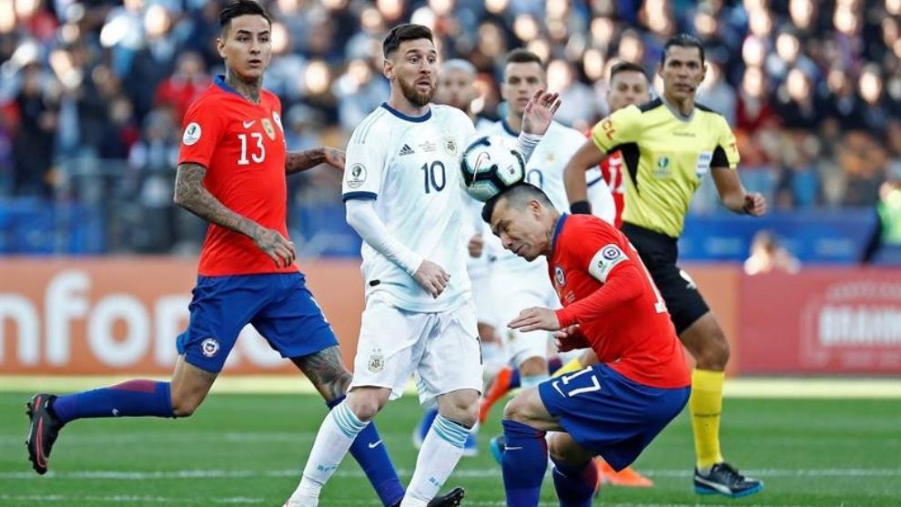 Copa América 2021 Argentina Vs Chile Resumen Resultado Y Goles Del Partido Por El Tercer Y Cuarto Puesto De La Copa América Marca Claro Argentina