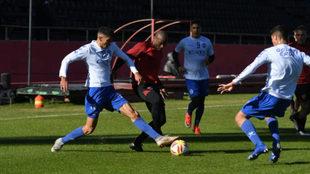 Newell's se queda con el triunfo en dos amistosos ante Godoy Cruz
