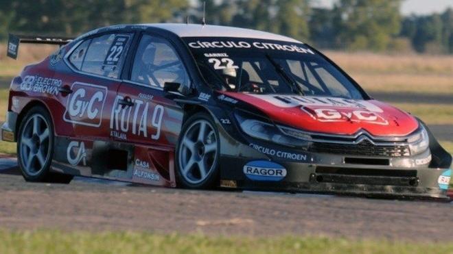 Juan José Garriz, con su Citroën, se llevó la prueba en San...