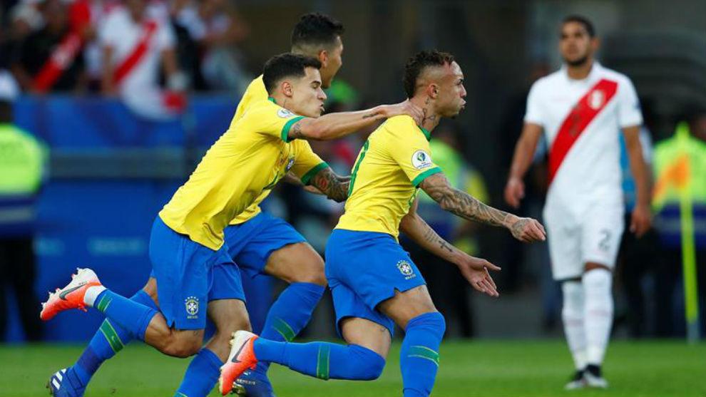 Brasil vs Perú, en vivo minuto a minuto