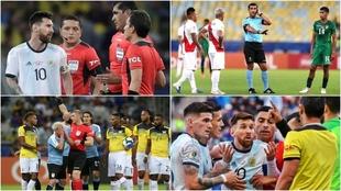 La Copa América de Brasil estuvo invadida por las polémicas
